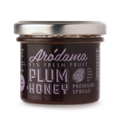 Plum and honey spread 120g
