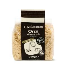 Kritharaki (orzo) au lait de chèvre 250g Dolopia vue de face