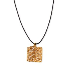Paros pendant gold plated