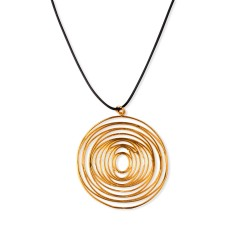 Pendant Cyclops gold plated...