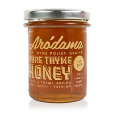 Cretan thyme honey 250g Arodama front view