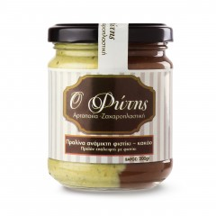 Pistachio-chocolate spread...