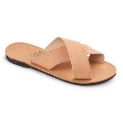 "Leather sandals ""Apollon"""