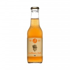 Gentlemen's soda with Bergamot and Tangerine 200ml THREE CENTS front view