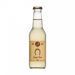 """Τζιτζιμπίρα """"Ginger Beer"""" 200ml THREE CENTS μπροστινή όψη"""