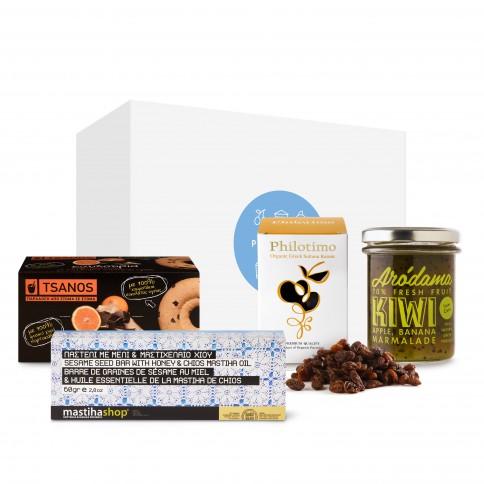 """Gift box """"Greek tradition"""" POUPADOU, front view"""
