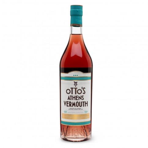 Bouteille de Otto's Athens Vermouth 750ml, vue de face