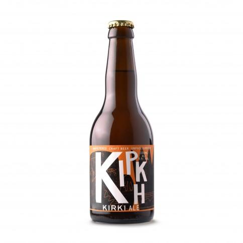 Kirki greek craft beer Pale Ale 330ml front view