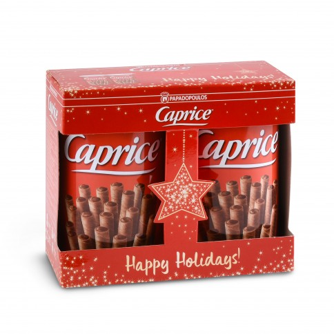 Caprice - Christmas Pack (2 x 400g) Papadopoulos, front view