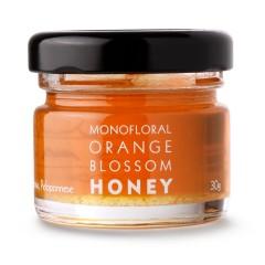 Miel grec à la fleur d'oranger de Lakonia 30g Valsamo, vu de face