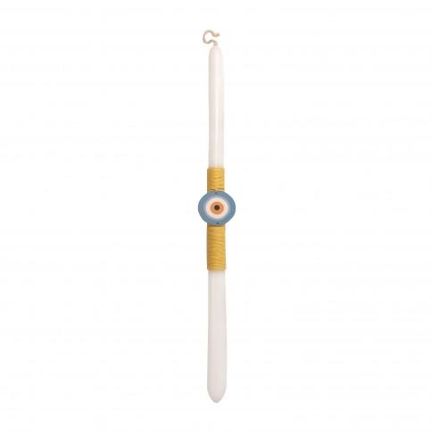 Lambada, traditional Greek Easter candle Eye