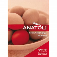 Red dye for easter eggs Anatoli, front view