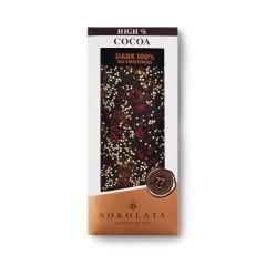 Dark chocolate 100% cocoa...