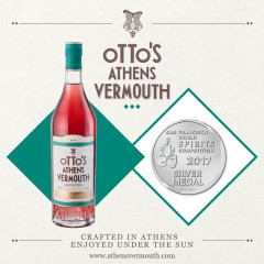 Otto's Athens Vermouth 750ml with silver award 2017