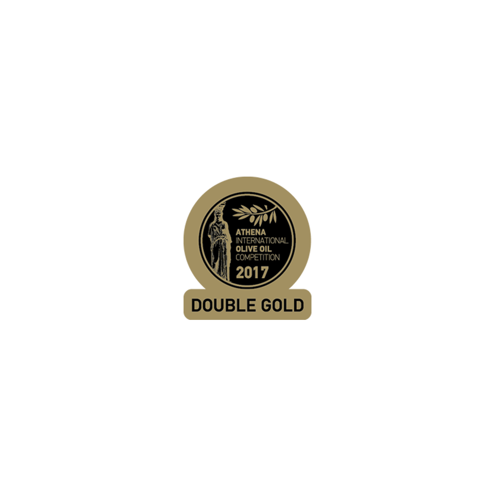 Huile d'olive extra vierge Koroneiki d'Attique 500ml 3922 AIOOC 2017 double gold