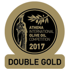 "Koroneiki extra virgin olive oil from Attica ""39/22"" 500ml AIOOC 2017 double gold"