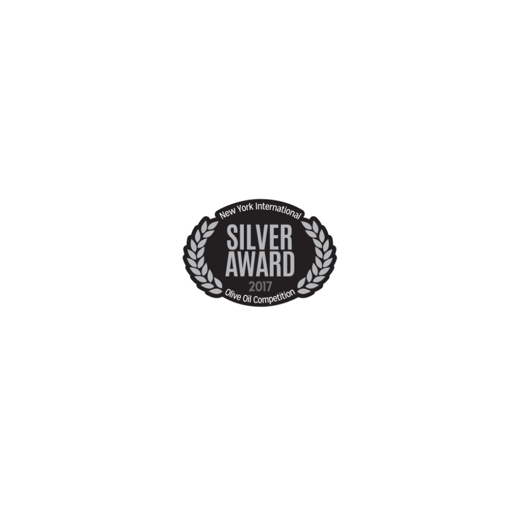 Huile d'olive extra vierge Manaki 500ml 3922 NYIOOC 2017 silver