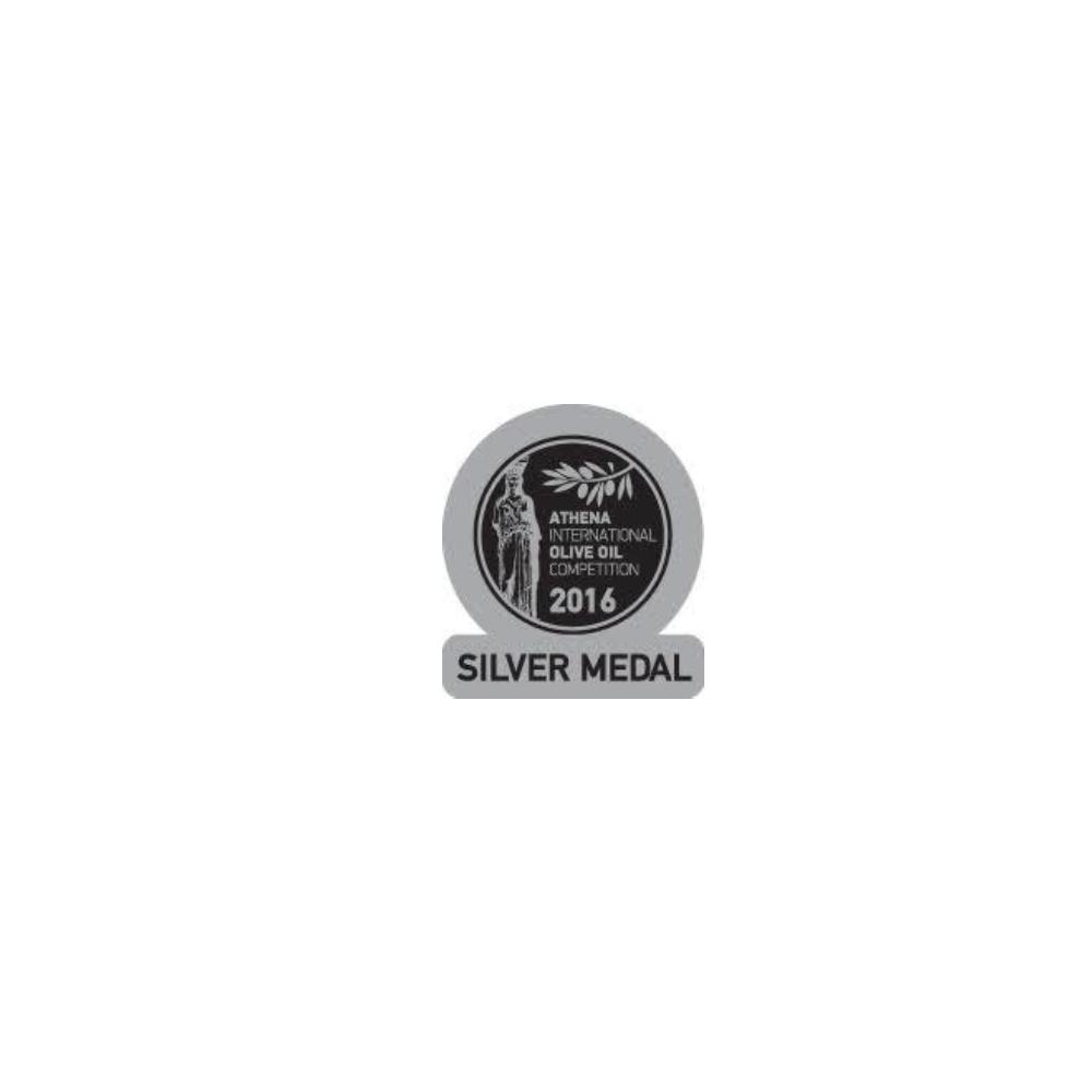 "Extra virgin oil Manaki ""39/22"" 500ml AIOOC silver gold 2016"
