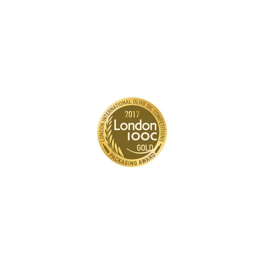 "Extra virgin oil Manaki ""39/22"" 500ml LIOOC bronze gold 2017"