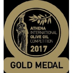 Huile d'olive extra vierge Manaki 500ml 3922 AIOOC 2017 gold