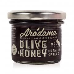Cretan tapenade with honey 100g Arodama front view