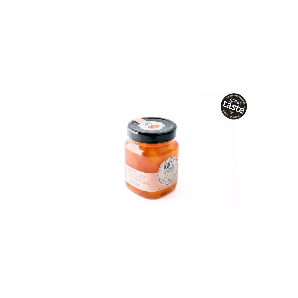 Oranges amères confites artisanales 450g Iamvi vue de face great taste award