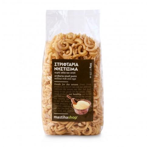 Striftaria petites tresses de pâtes 500g Mastiha Shop vue de face