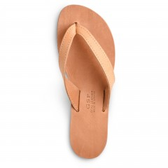 "Leather Sandals ""Hestia"" GSP Sandali top view"