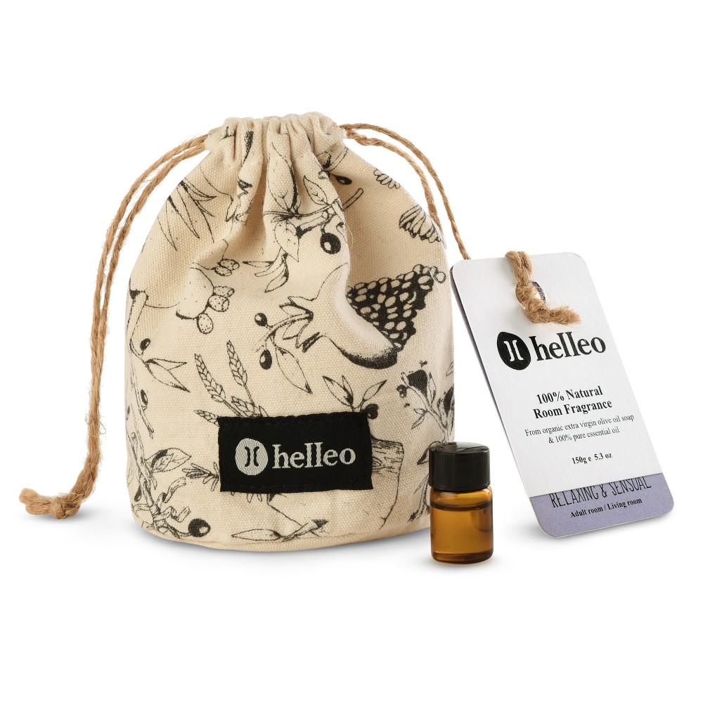 Room fragrance Relaxing & Sensual Helleo Soap pouch