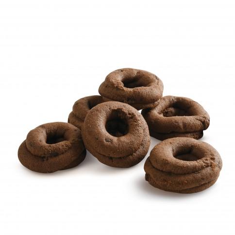 Tsanakia petits biscuits grecs avec des morceaux de chocolat noir 70g Tsanos, détail