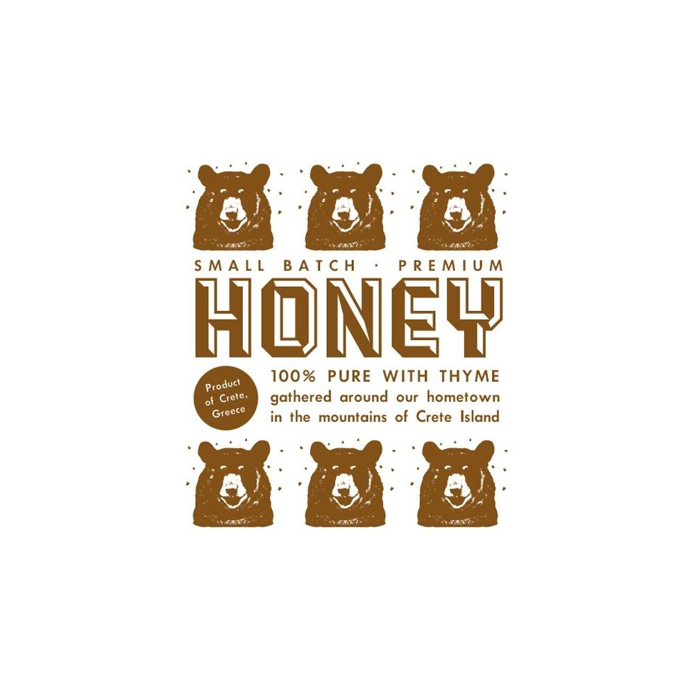 Cretan thyme honey 250g Arodama logo