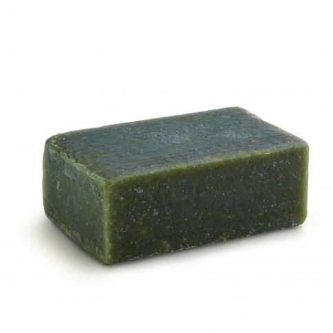 Savon à l'huile d'olive, charbon, concombre et yaourt Yea 120g Ya Su savon vu de 3/4
