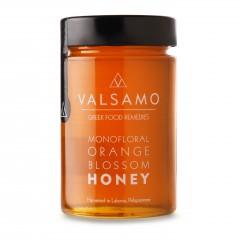Miel à la fleur d'oranger de Lakonia 280g Valsamo, vue de devant