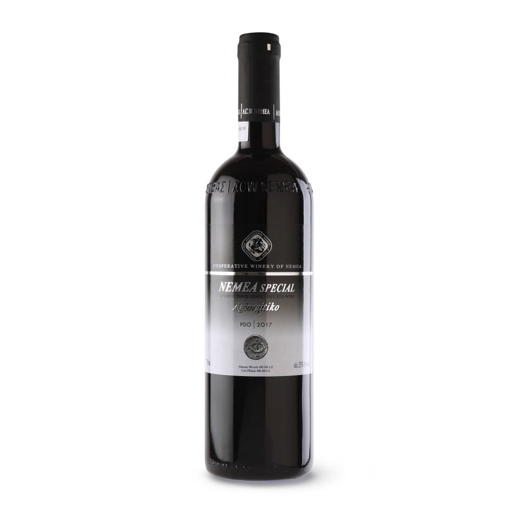 Vin grec Nemea Special AOP 2017 en bouteille de 75cl