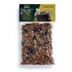 Petites olives Koroneiki de Crète 250g Oinotropous vue de face