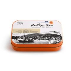 Larmes de Mastiha boîte de 20g Mastiha Shop vue de face
