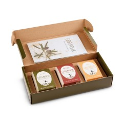 Gift box handmade olive oil...