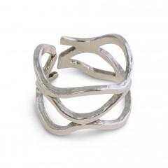 Σεβαλιέ Δαχτυλίδι Κως ασημί...