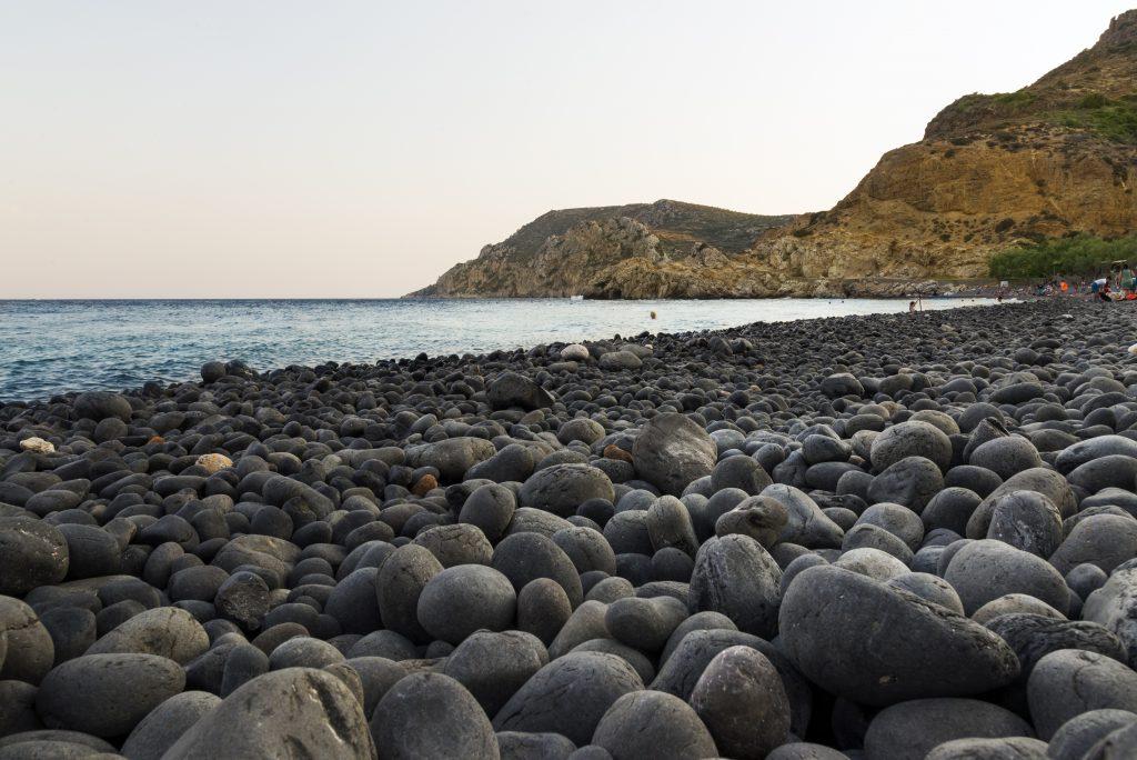 Mavra Volia Beach at Chios Island