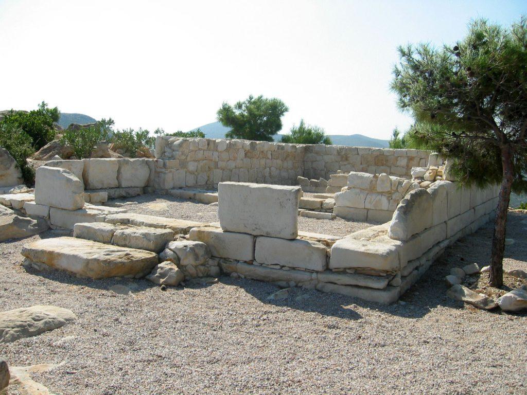 Site archéologique d'Emporios sur l'île grecque de Chios