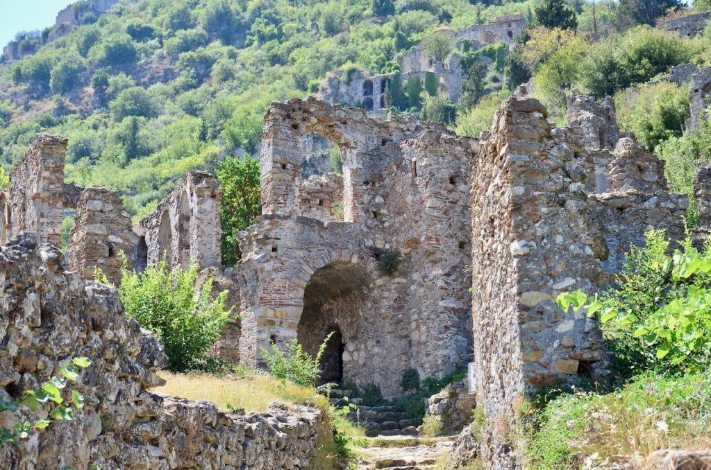 Mystras in Peloponnisos