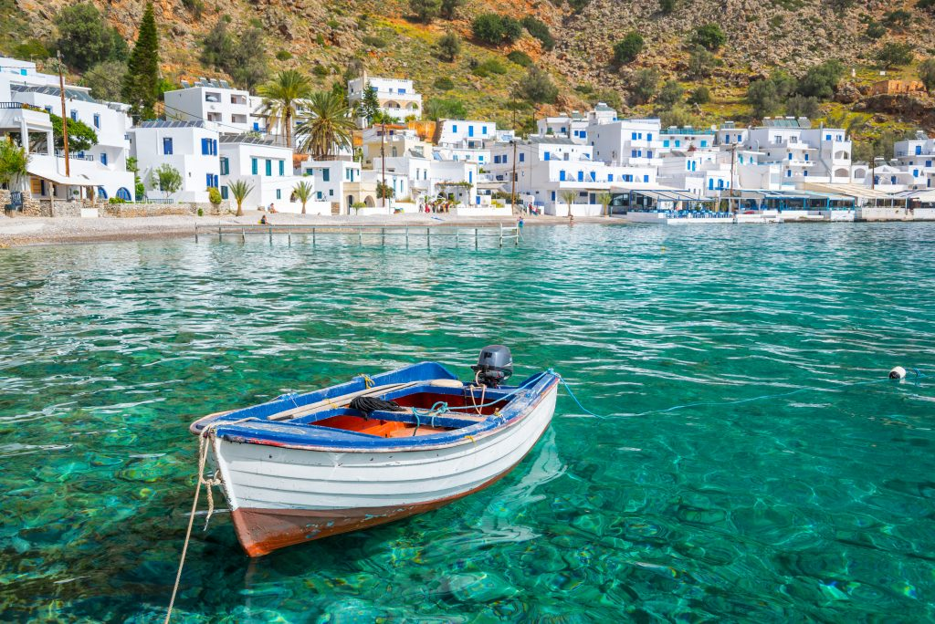Loutro, village en Crète