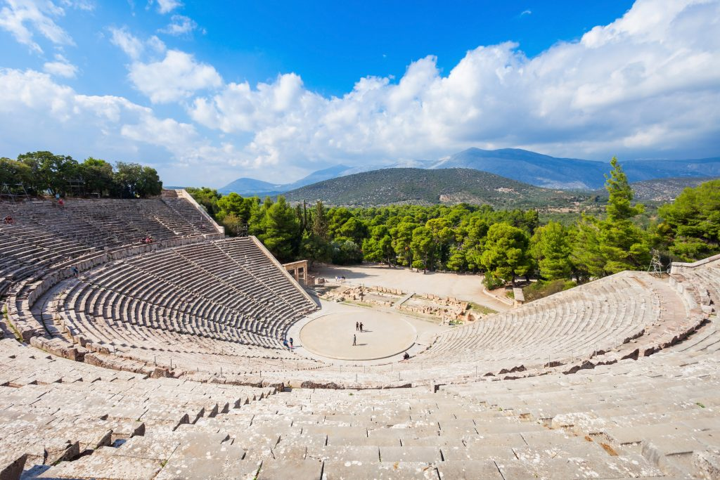 Epidaurus Ancient Theatre, Argolis, Greece