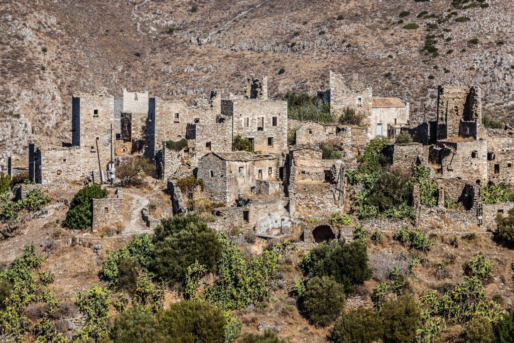 Vathia, traditional village in Laconia, Peloponissos