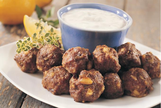 Boulettes grecques à la viande