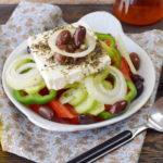 Horiatiki salade ou salade grecque