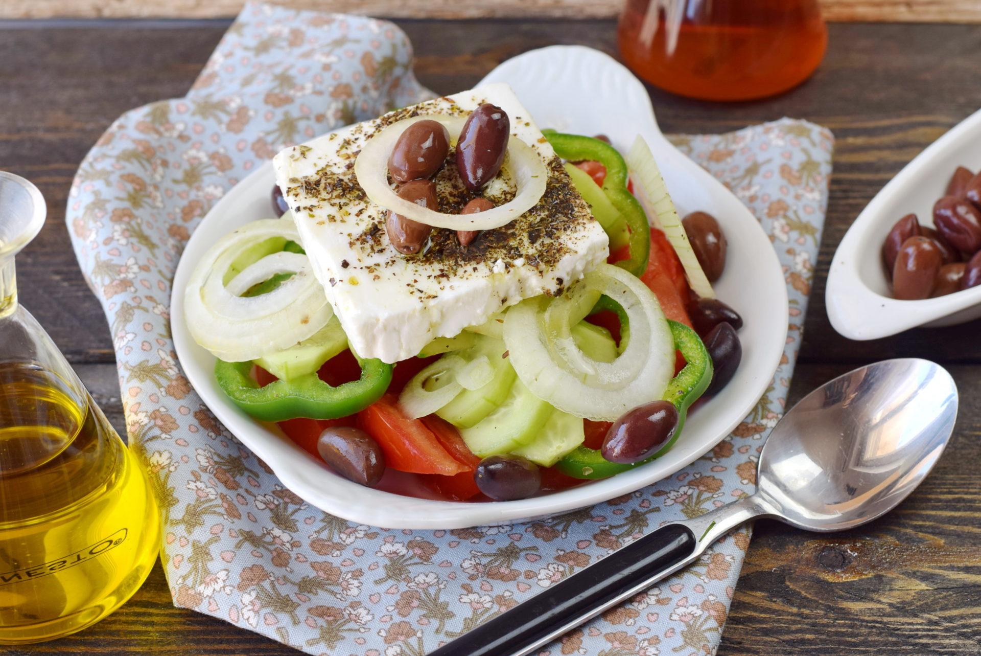 Horiatiki ou Salade Grecque