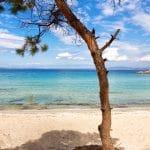 La plage de Vourvourou en Chalcidique