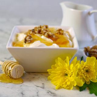 yaourt grec au miel et noix