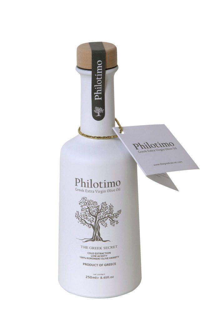 Huile d'olive grecque monovariétale koroneiki de Philotimo